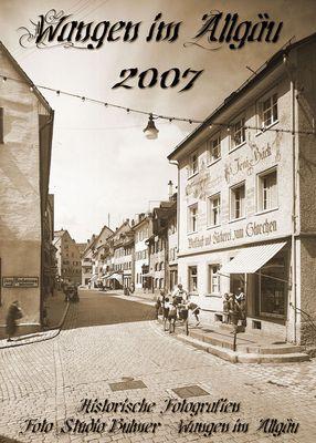 Ab Oktober wieder erhältlich - Der AltWangen Sammelkalender - Wangen im Allgäu hist. Stadtansichten
