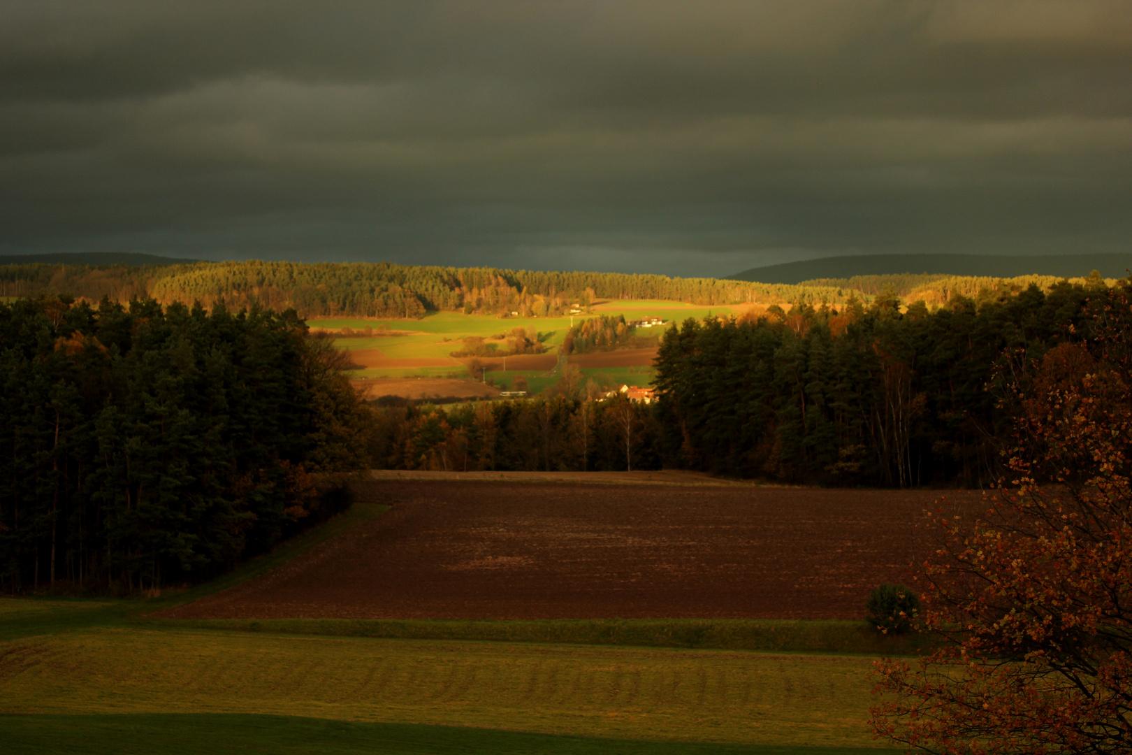 ...ab und zu schaut die Sonne mal durch die Wolkendecke