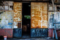 abandoned factory, mestre, italy