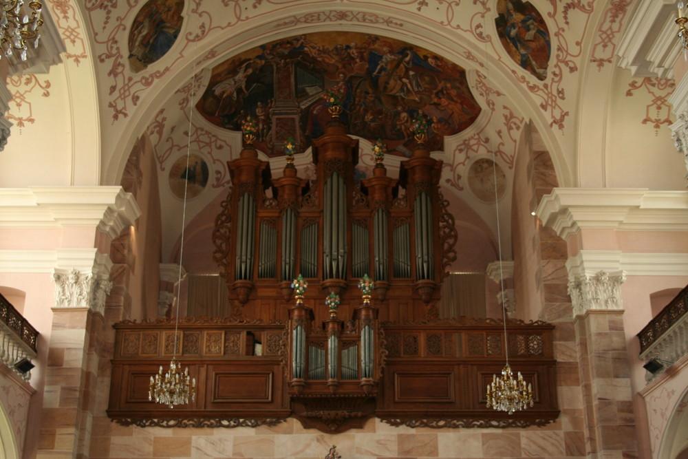 Abbatiale d' Ebersmunster 2 ( Alsace )
