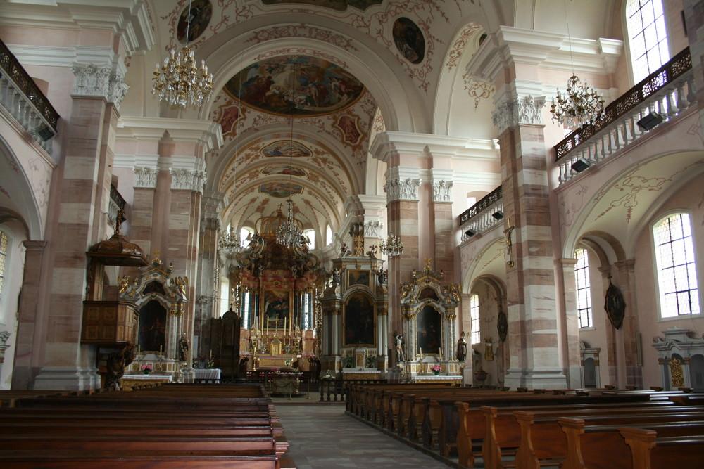 Abbatiale d' Ebersmunster ( Alsace )