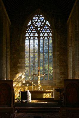 Abbaye de Boquen dans les Côtes-d'Armor en été 2007.
