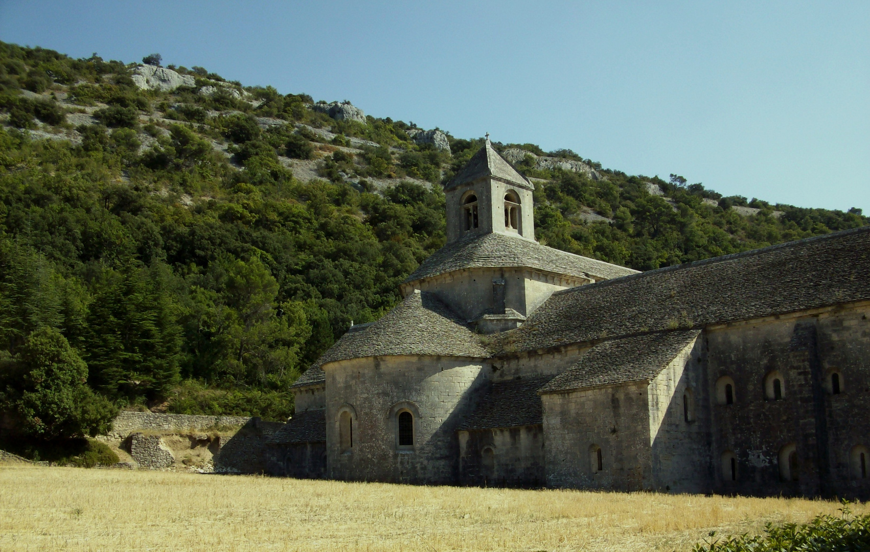abbaye de Sénanque, le calme avant la tempête !
