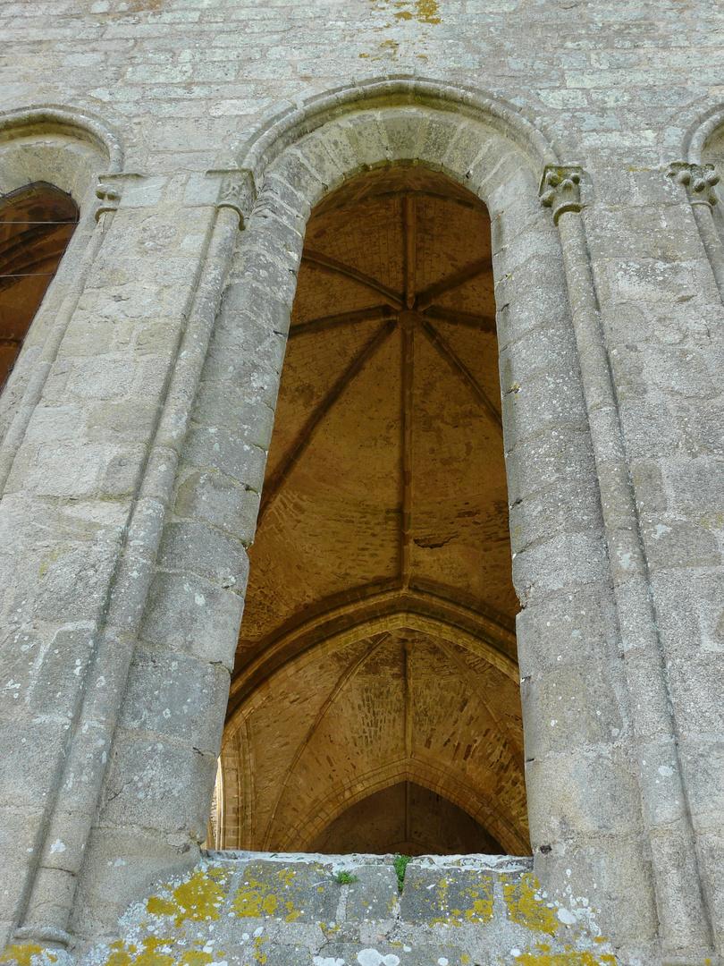 Abbaye des Fontenelles (Vendée) Vue de l'extérieur.