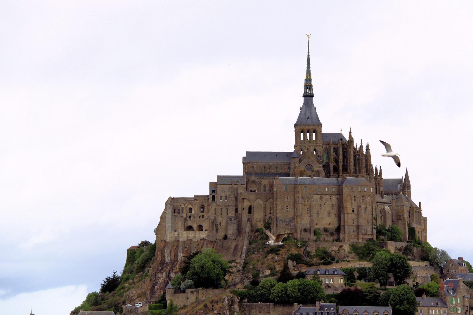 Abbaye du Mont St Michel!