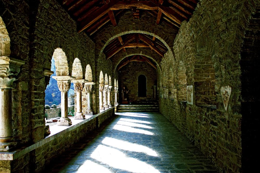 abbaye en pleine montagne