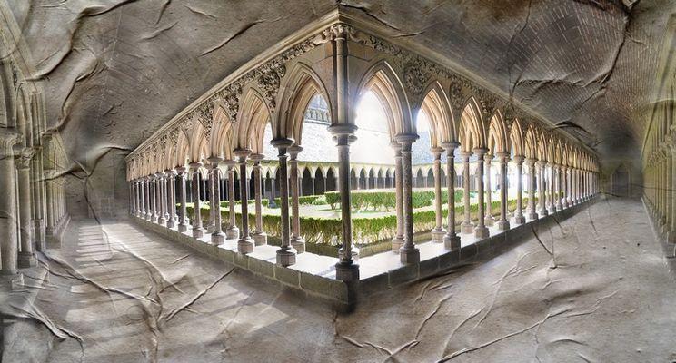 Abbaye et texture