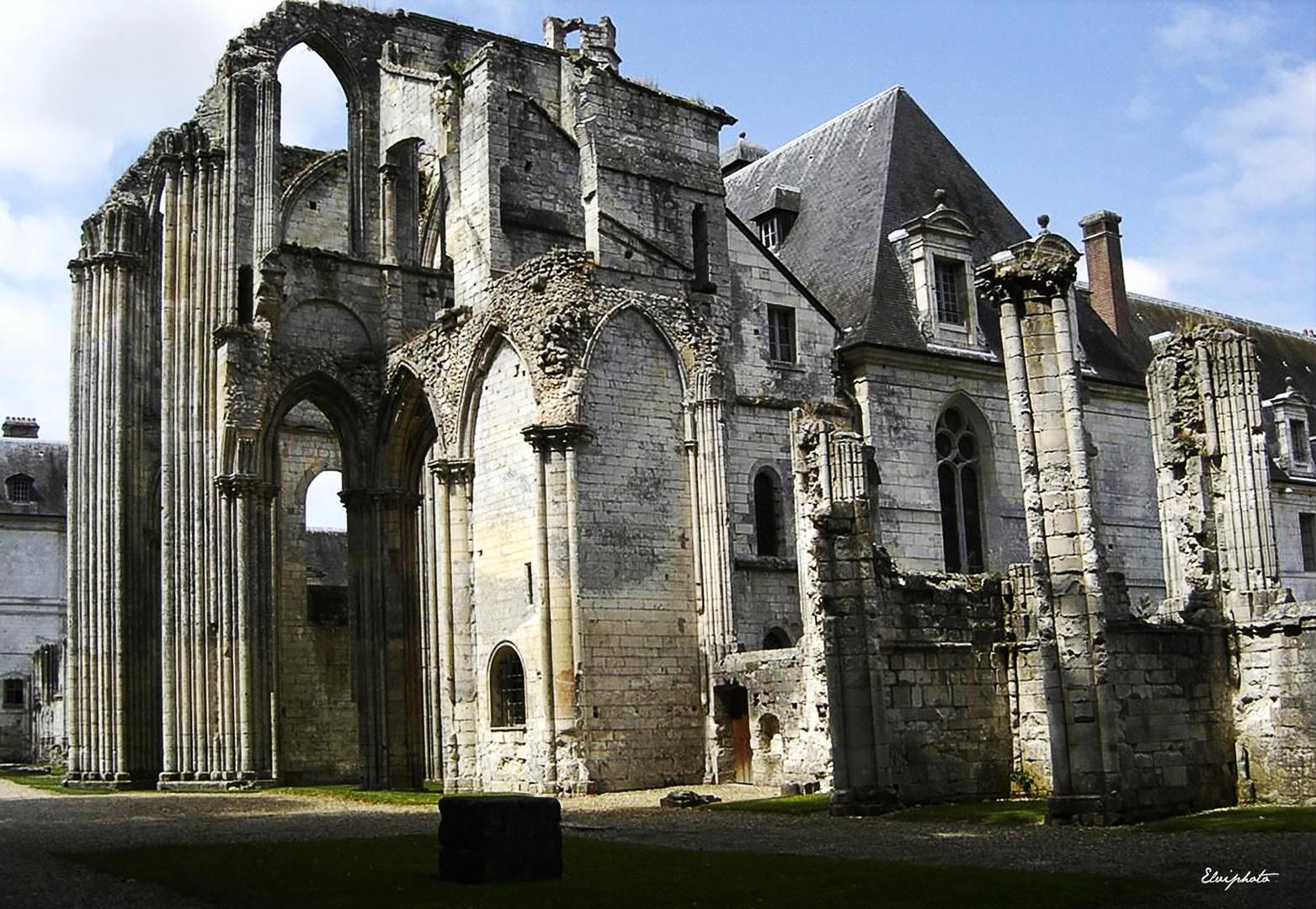 Abbaye Saint-Wandrille de Fontenelle.