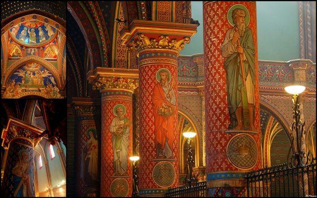 ABBAYE ST MICHEL DE FRIGOLET ... admirez le décor ... !