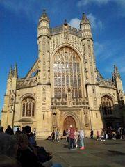Abbazia di Bath....facciata..