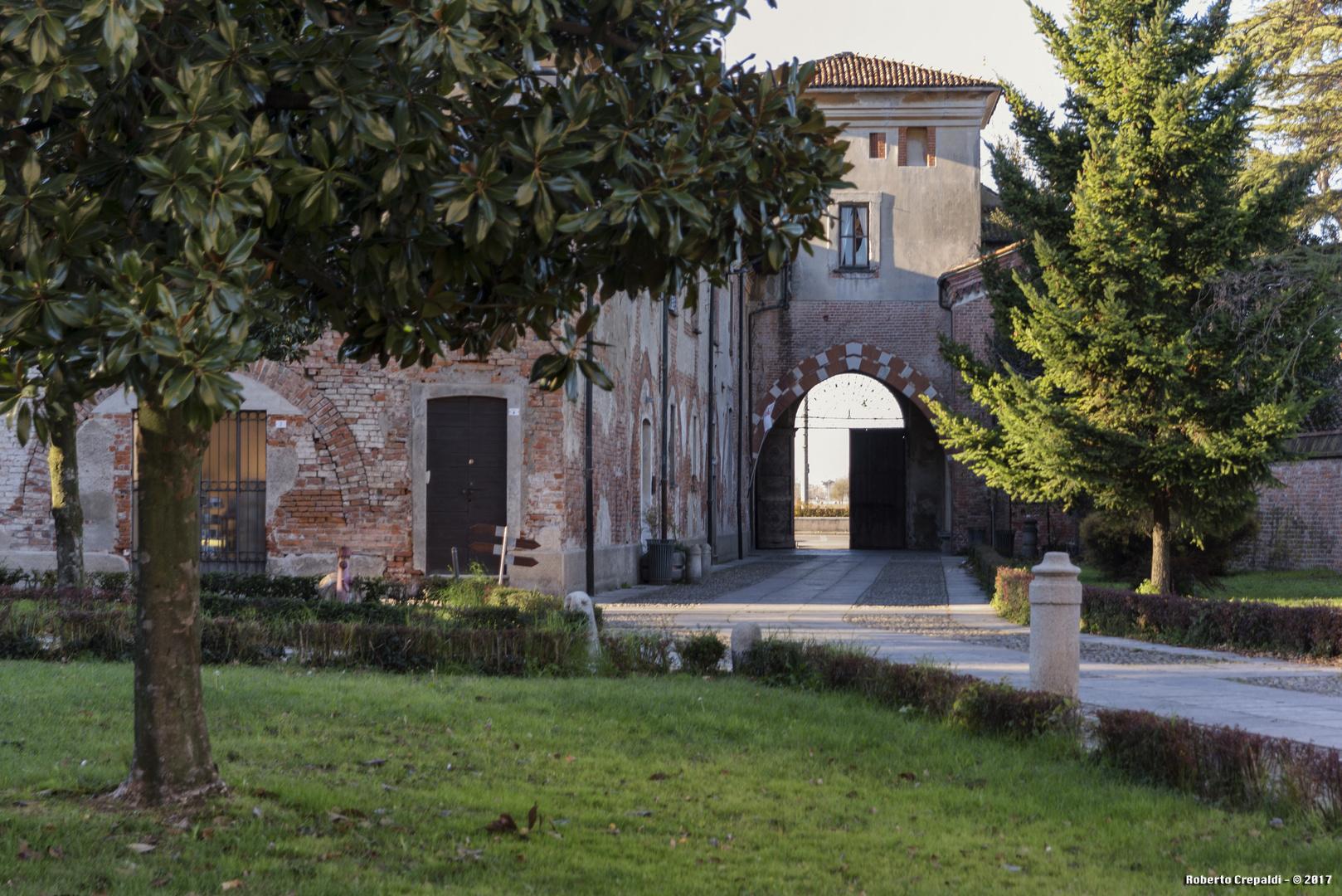 Abbazia di Chiaravalle, giardini