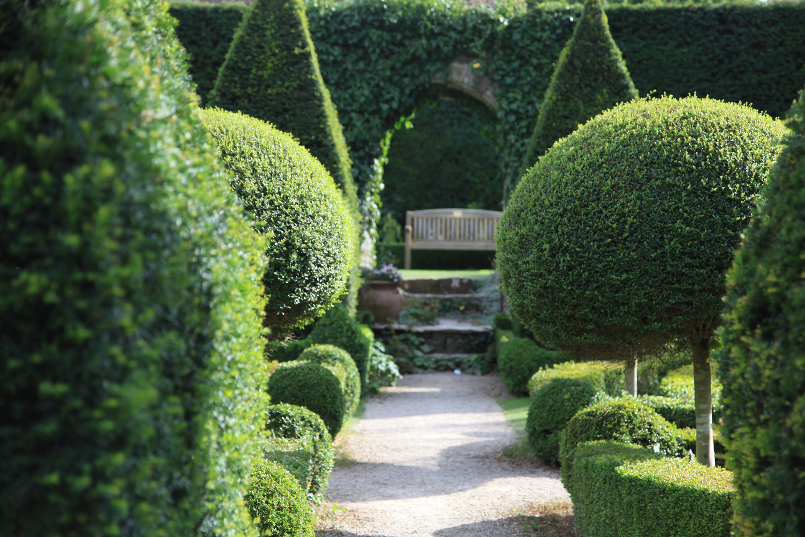 Abbey House Gardens in Malmesbury