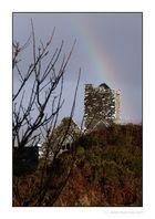 Abbey mit Regenbogen