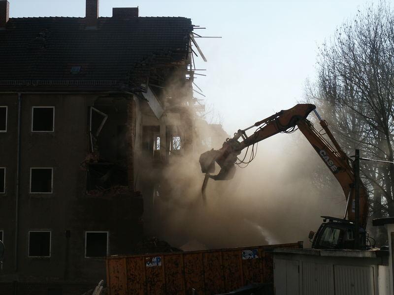 Abbruch in der Denkmalstadt Görlitz