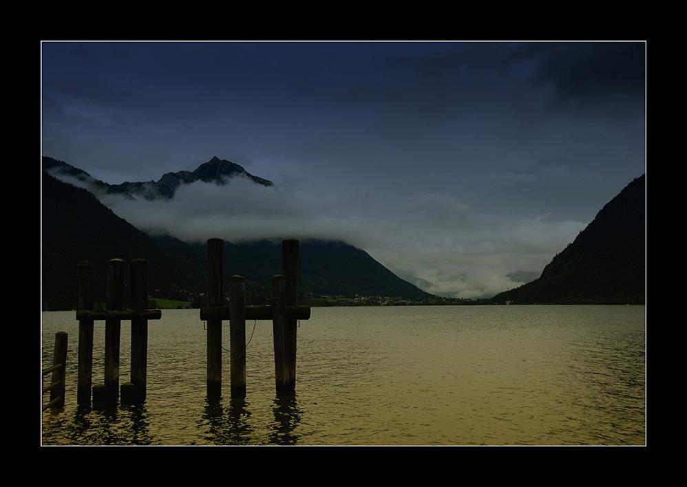 Abend am Achensee/Tirol