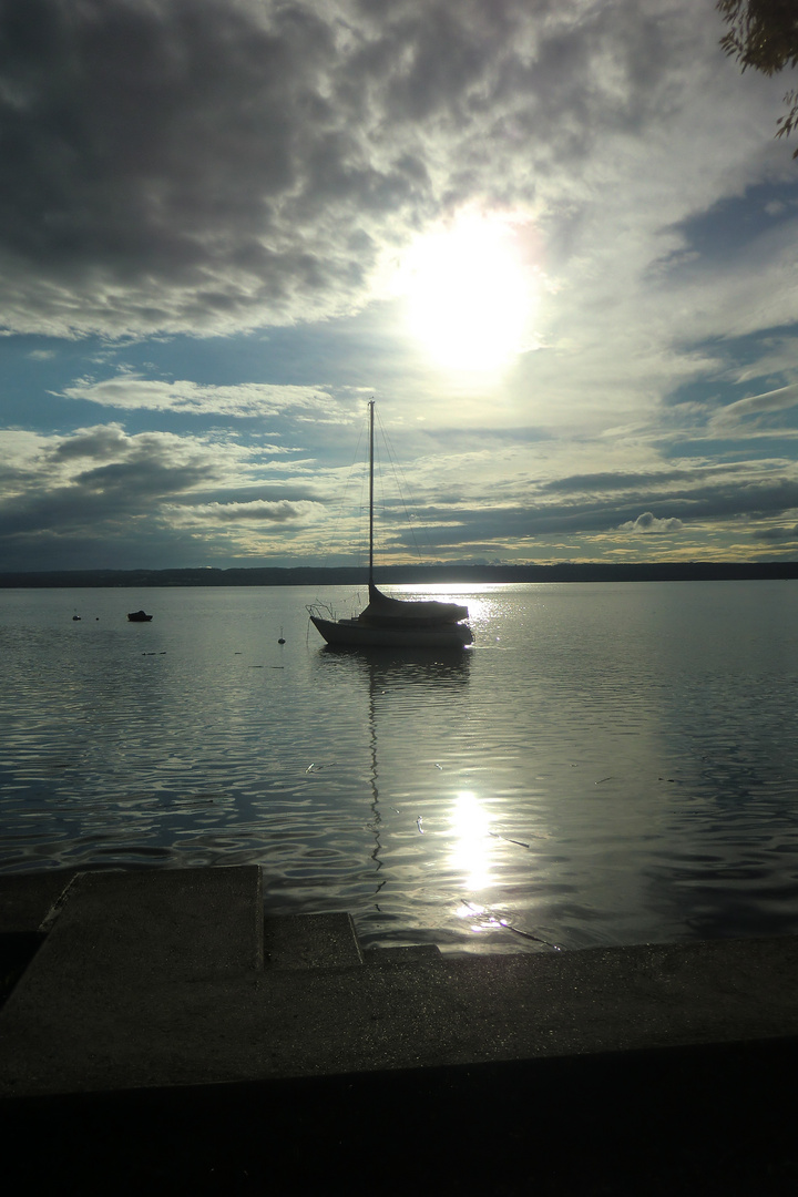 Abend am Ammersee