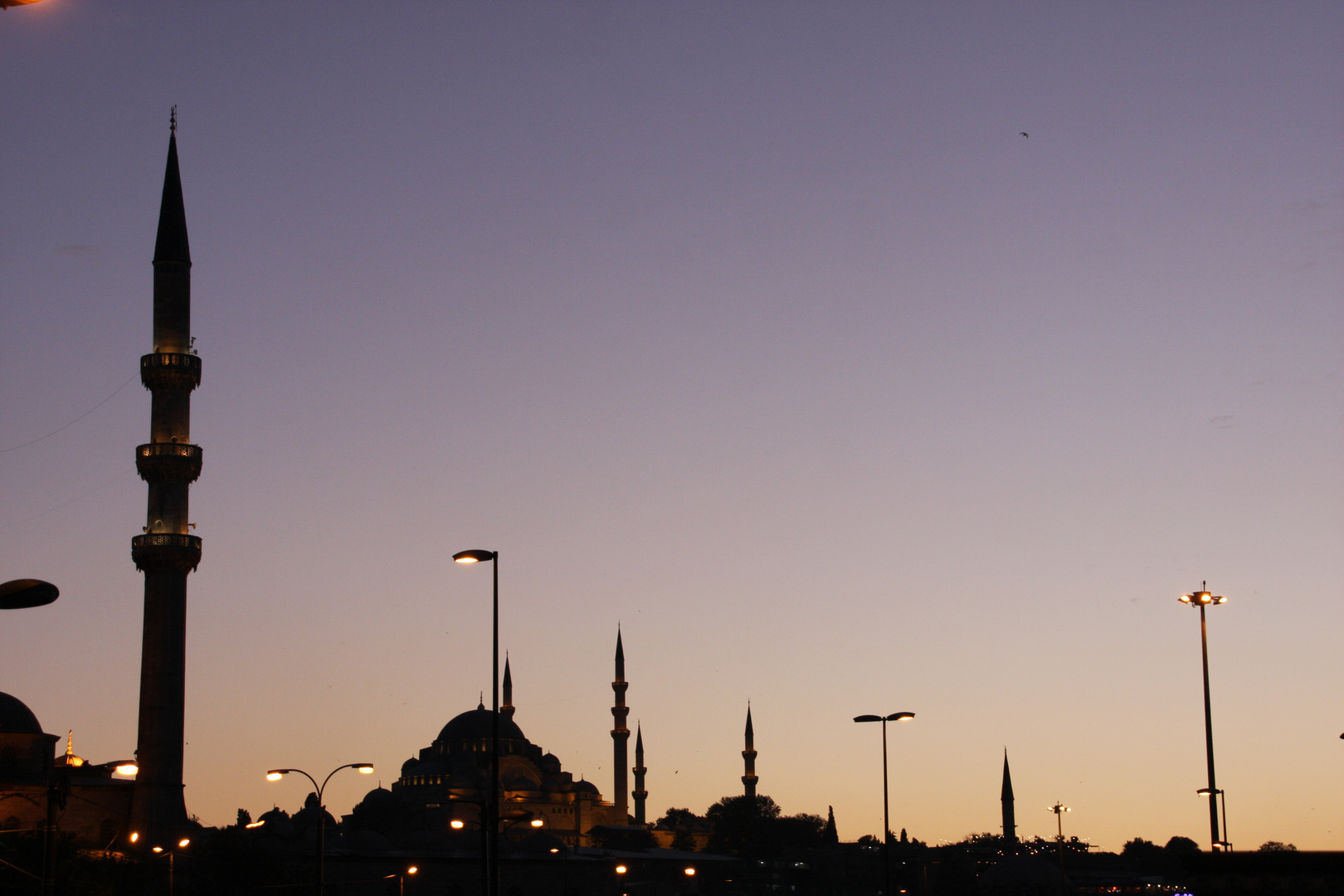 Abend am Bosporus