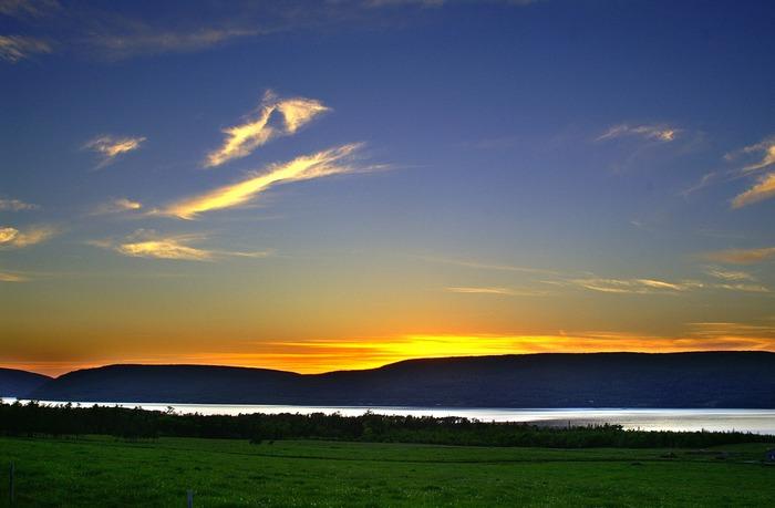 Abend am Bras d´Or Lake