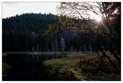 Abend am Buhlbachsee