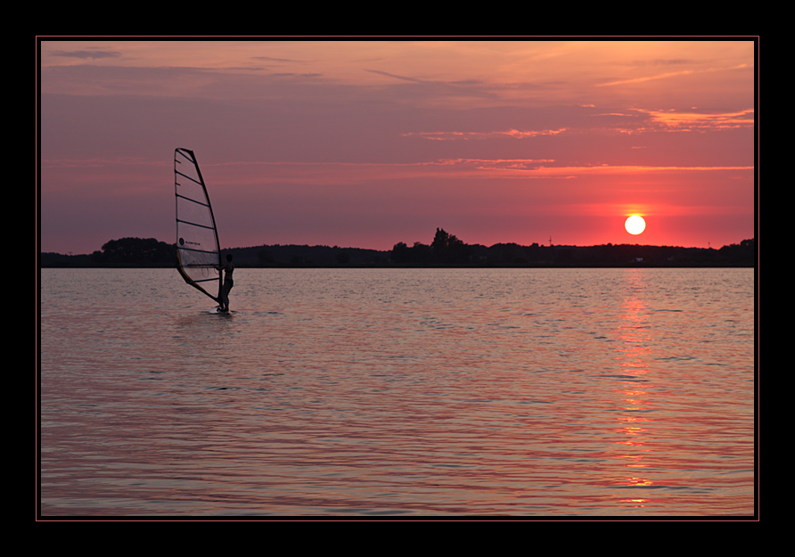 Abend am Fahrlander See 2