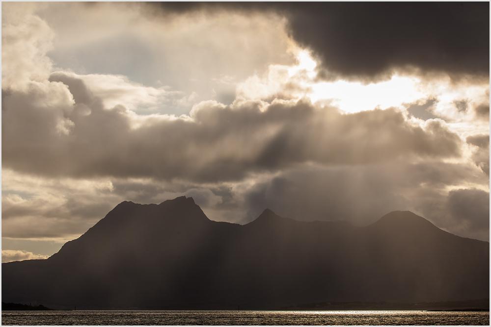 Abend am Fjord