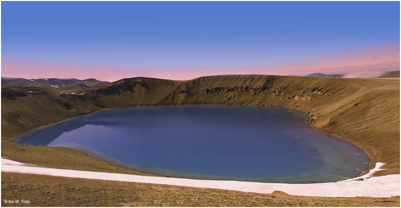 Abend am Kratersee Viti
