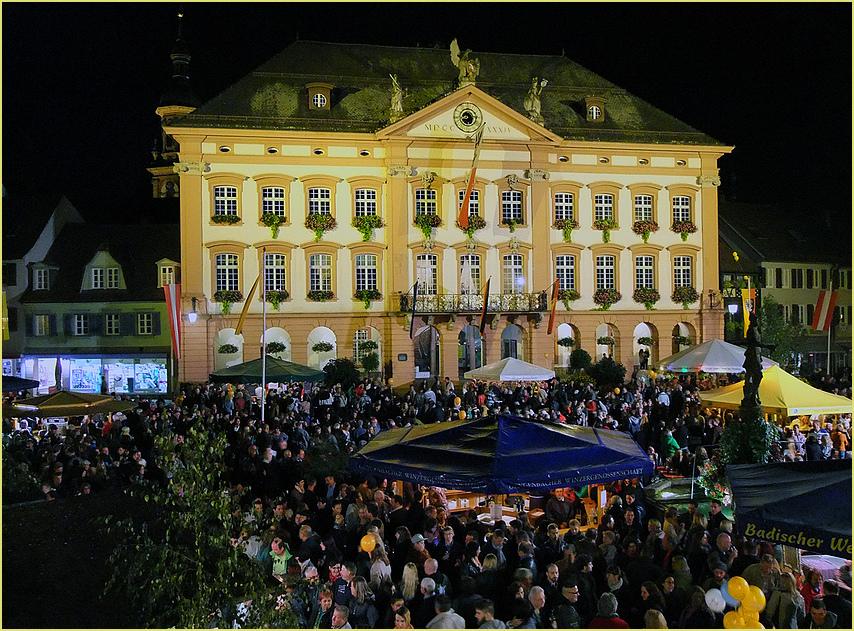 Abend am Marktplatz
