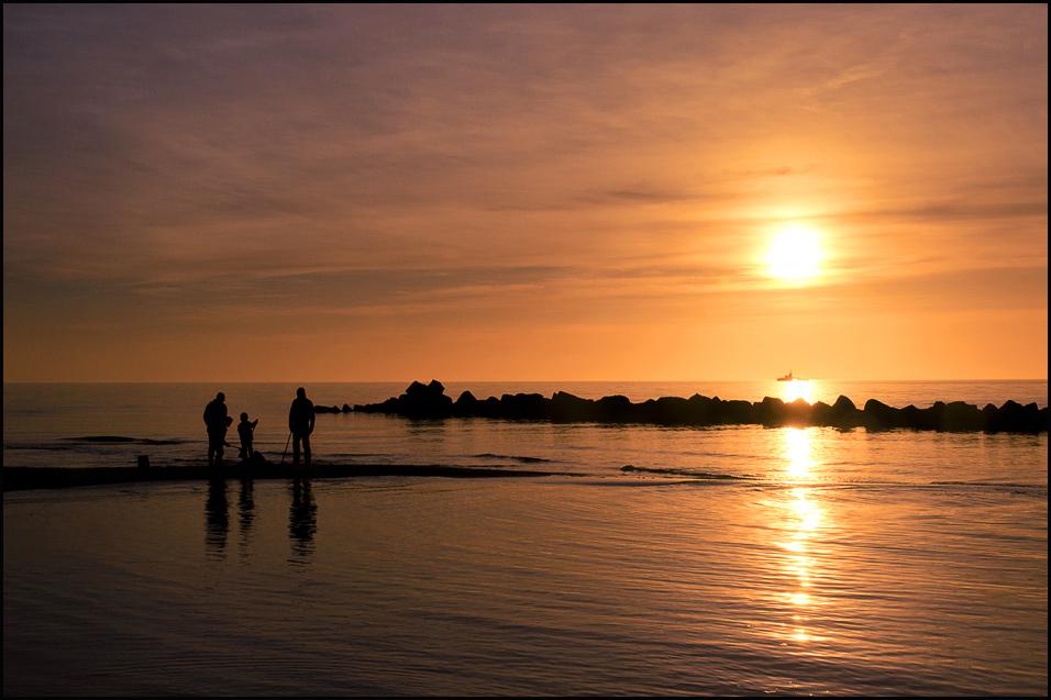 Abend am Meer 01