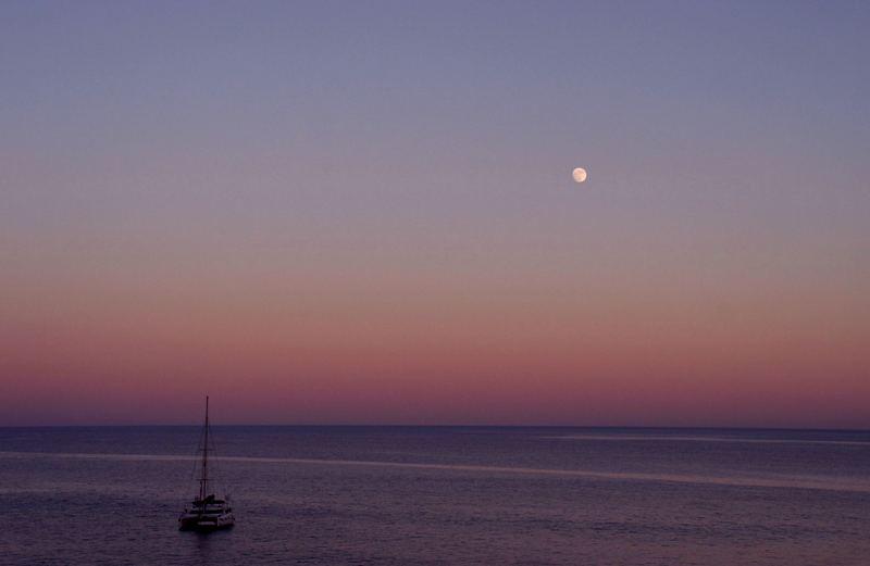 Abend am Meer...