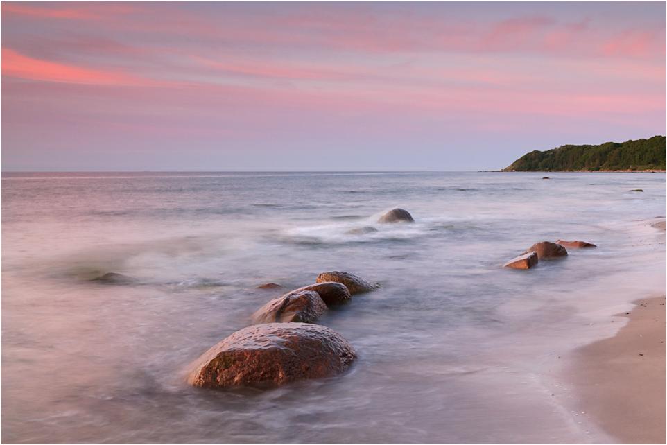 Abend am Ostseestrand
