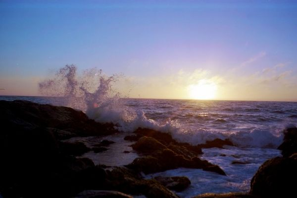 Abend am Pazifik
