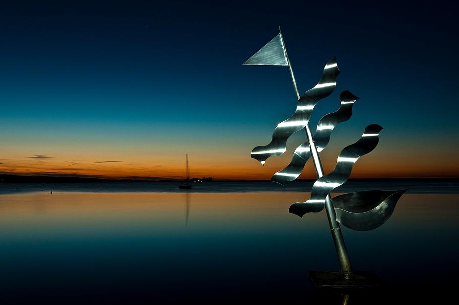 Abend am Steinhudermeer