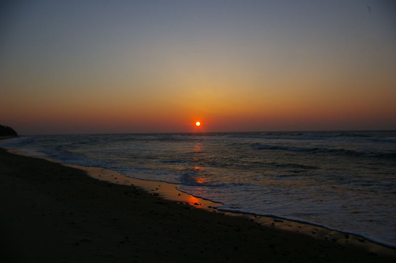 Abend am Strand auf Rügen