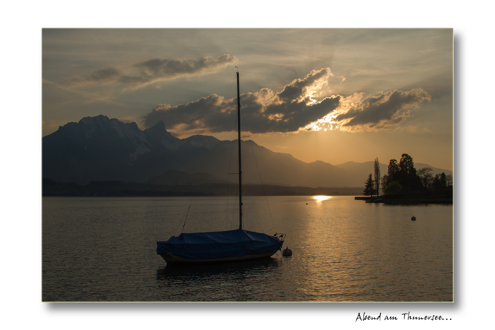 Abend am Thunersee...