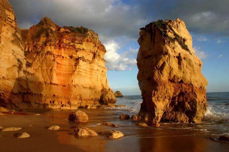 Abend an der Algarve