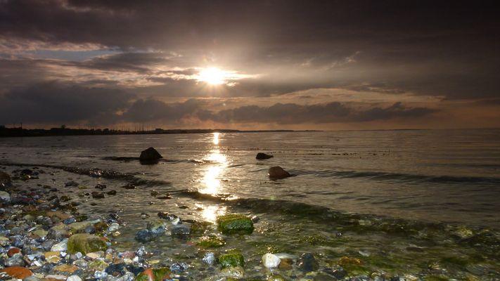 Abend an der Geltinger Bucht
