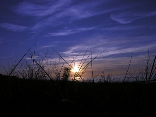 Abend an der Ostseeküste in Kühlungsborn