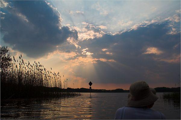 Abend auf dem Köthener See