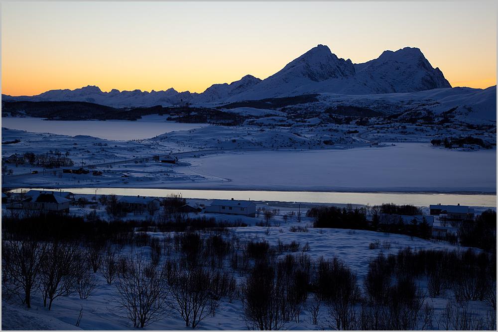 Abend auf den Lofoten