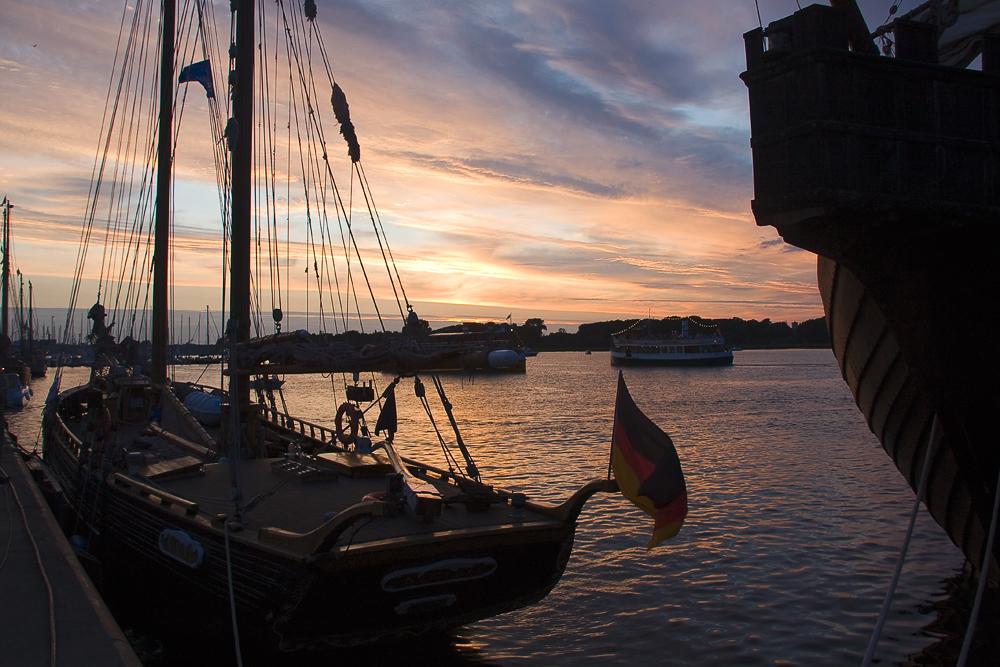 Abend auf der Hansesail