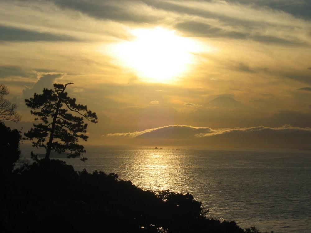 Abend auf Enoshima