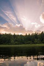 Abend auf Ladoga. Karelia, Harvey