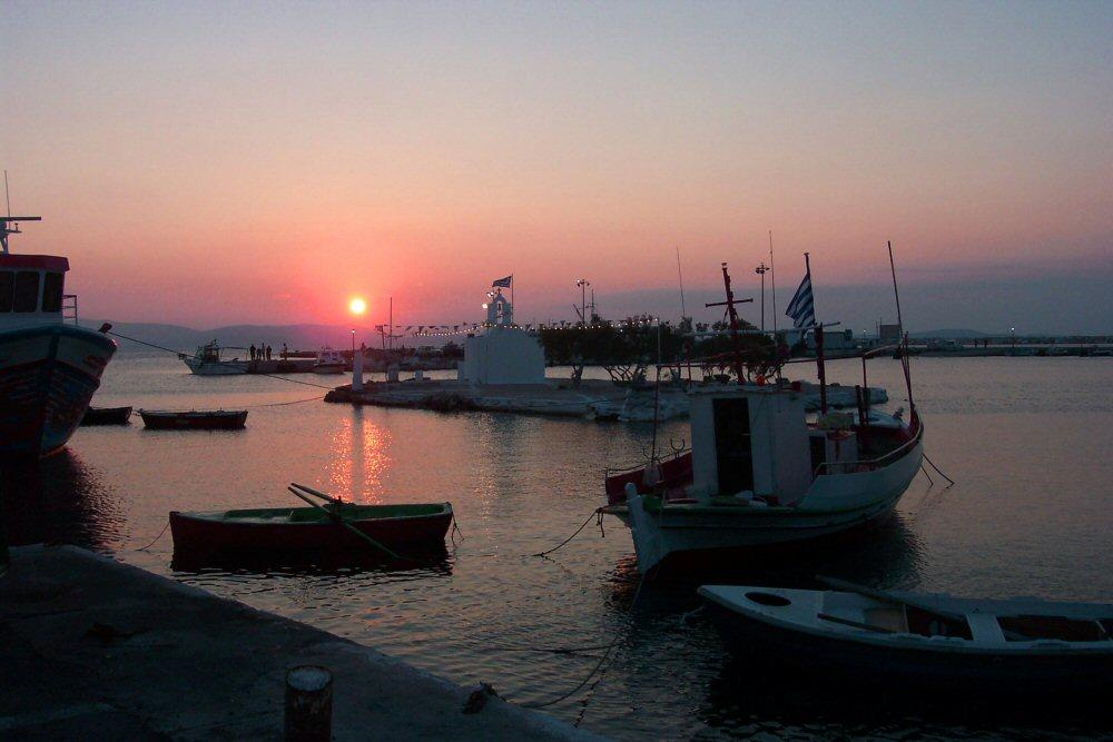 Abend auf Naxos