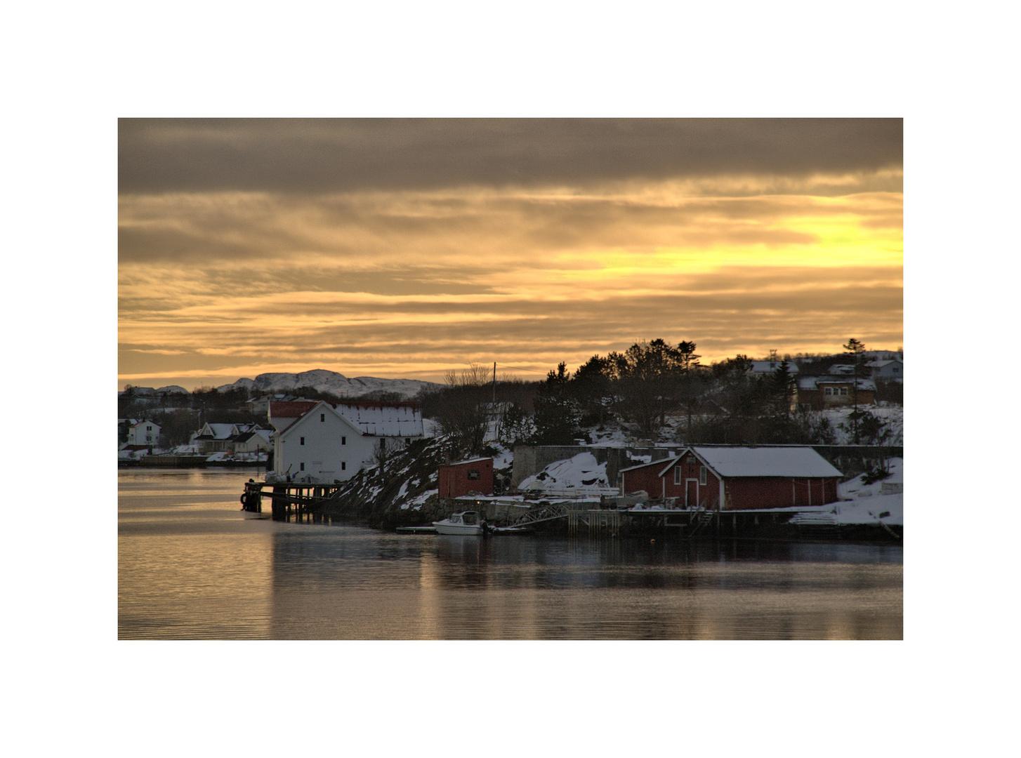Abend bei Brönnöysund