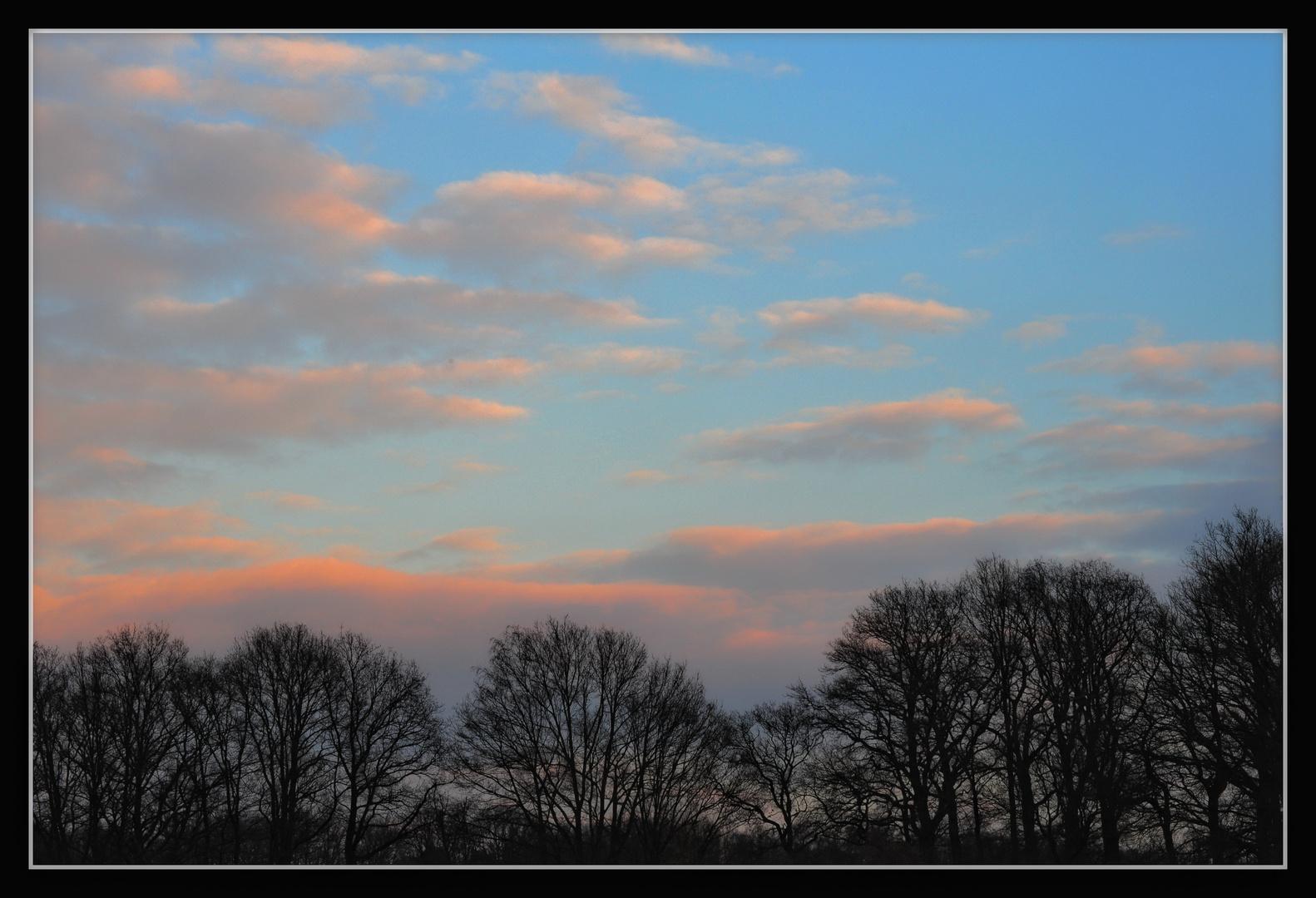 Abend-Himmel