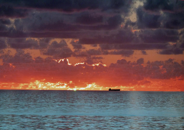 Abend im Golf von Mexiko