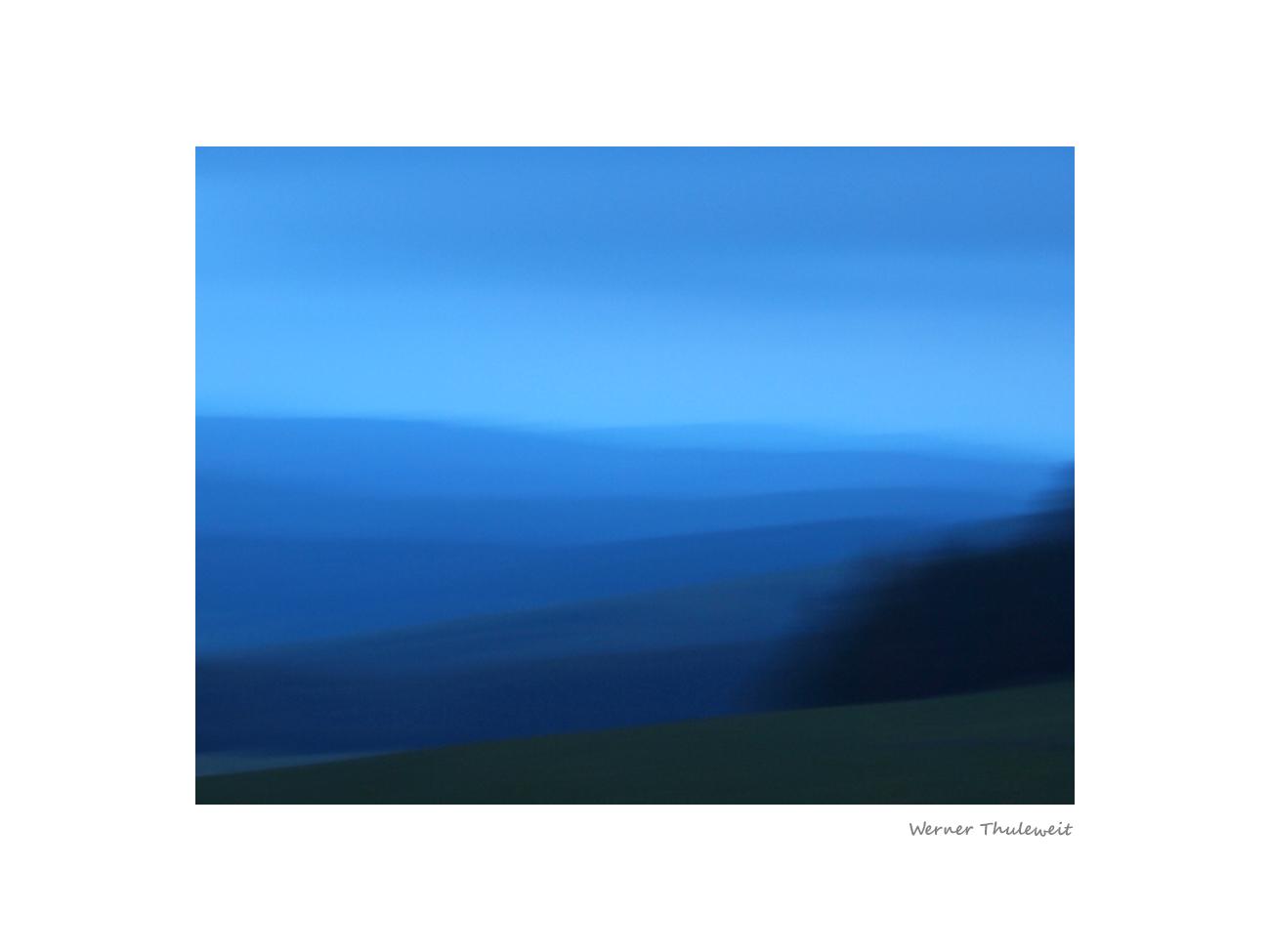 Abend im Knüllgebirge