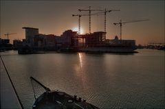 Abend im Medienhafen (III)