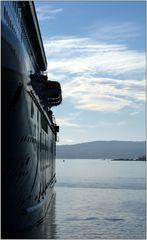 ... Abend im Osloer Hafen ...