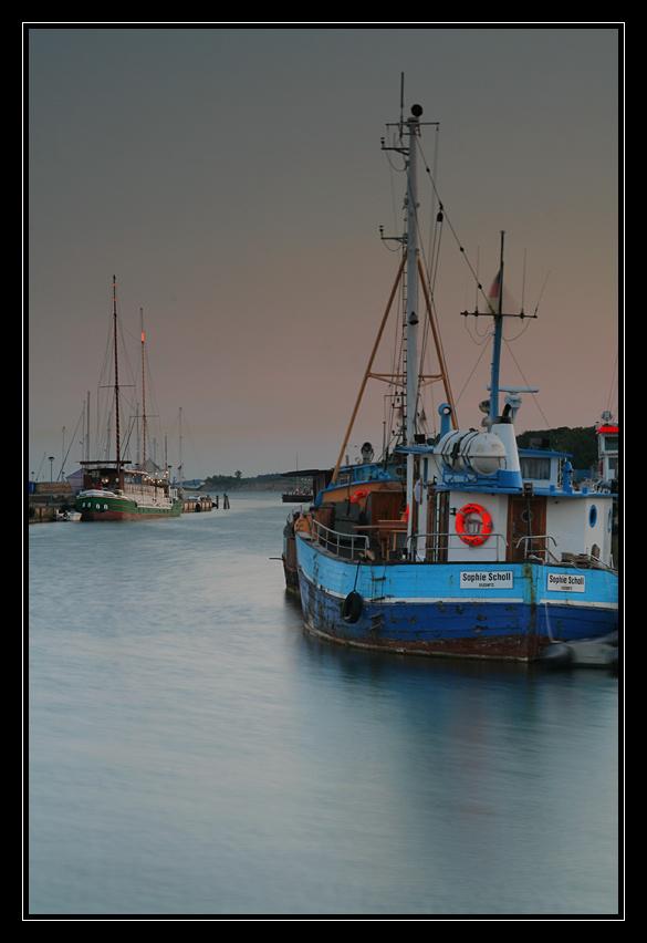Abend im Sassnitzer Hafen